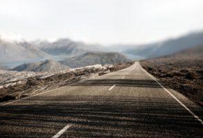 Landscape Contry Road Travel Destination Rural Concept
