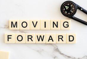 moving forward, move ahead, progress
